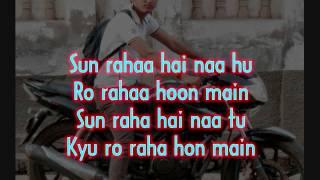 Sun Raha Hai Na Tu Aashiqui 2 karaoke free by Ajay Singh TECHNOSTERS