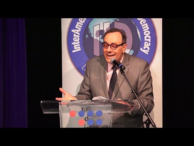 Carlos A Montaner - FORO: Homenaje a Eudoro Galindo Anze