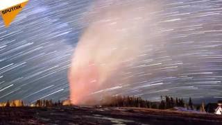 Spectacular Timelapse Footage of Yellowstone National Park