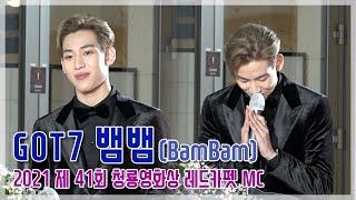 [TOP영상] '제41회 청룡영화상' 갓세븐(GOT7) 뱀뱀, 레드카펫 MC 출격! 태국어와 영어도 술술~(…