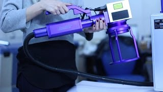 Мобильный лазерный маркиратор  LM-F20D