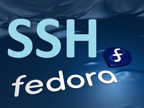 Configuration De SSH Sur Linux (fedora)