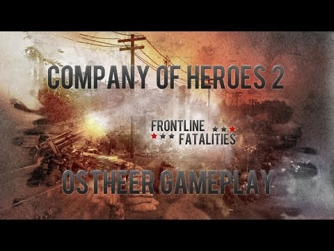 Company of Heroes 2 Alpha: Ostheer Gameplay Walkthrough