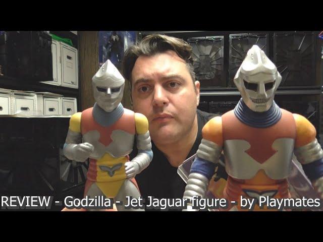 REVIEW - Godzilla - Jet Jaguar figure - by Playmates