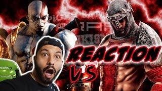 Kratos vs Dante. Épicas Batallas de Rap del Frikismo | Keyblade | Video Reaccion | Reaction
