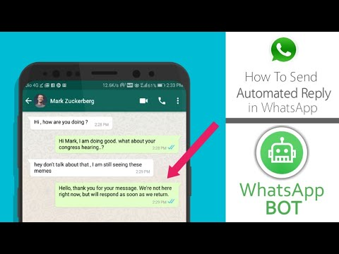 WhatsApp bot: Auto Reply to Contacts 🔥🔥 | WhatsApp Autoresponder 100%  Working ✅