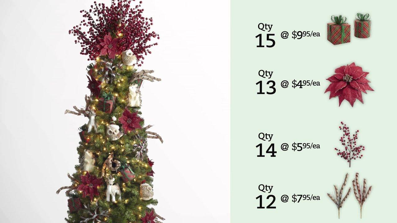 Pier 1 Imports Winter Wonderland Christmas Tree Youtube