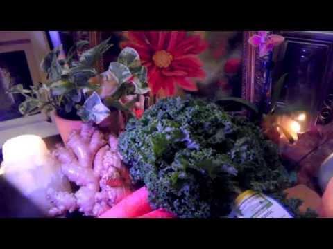 Benefits of Juicing Kale~Anti-Cancer Green Juice Blend! Anti-Aging Skin Tightening Kale!!