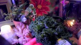 Benefits Of Juicing Kale~anti-cancer Green Juice Blend! Anti-aging Skin Tightening Kale!!