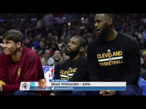 ESPN NBA Senior Reporter Brian Windhorst Talks Kyrie Irving Situation & More - 7/24/17