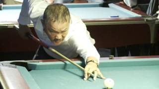 Klaus Zobrekis vs Efren Reyes - presented by Z9 Billiardcloth