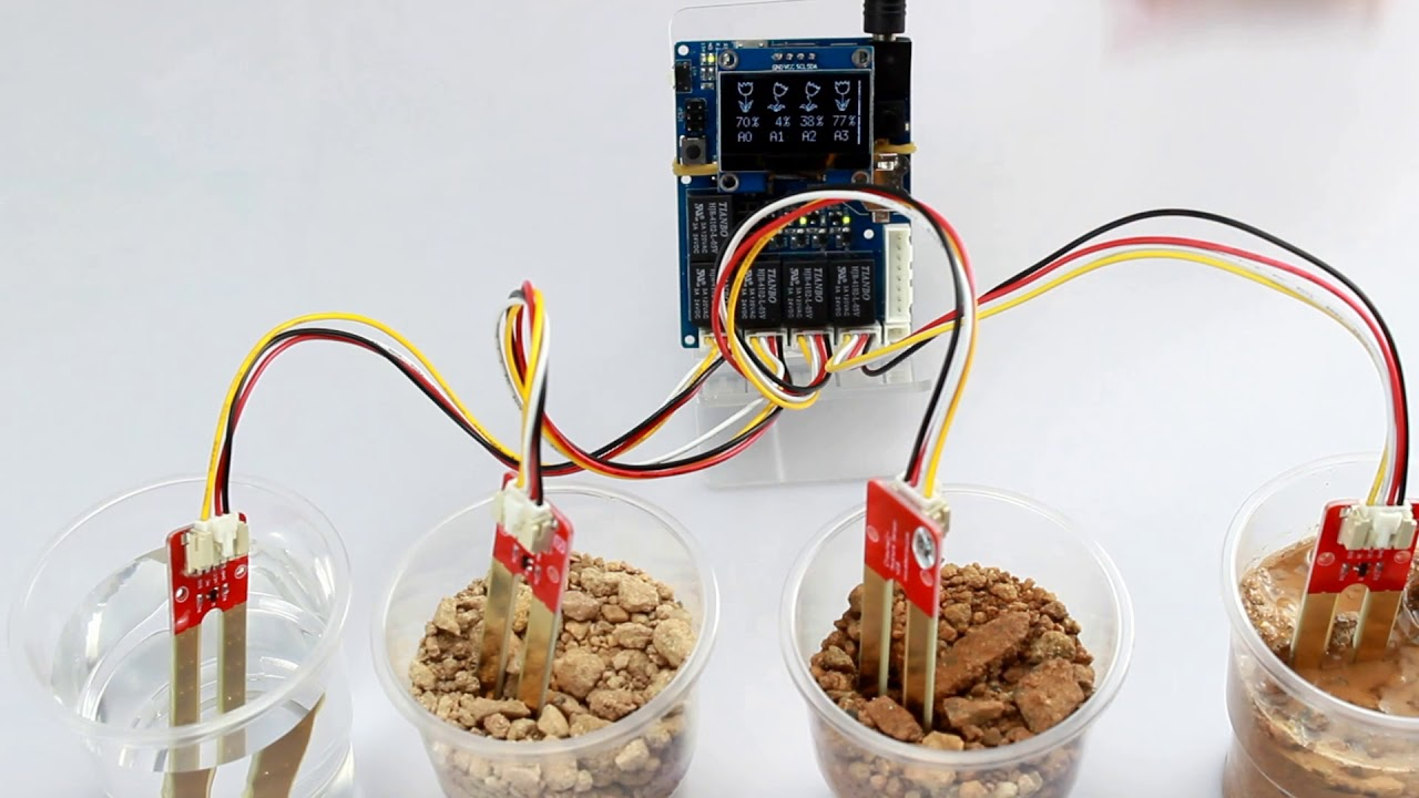 Arduino Automatic Smart Plant Watering Kit 2 1