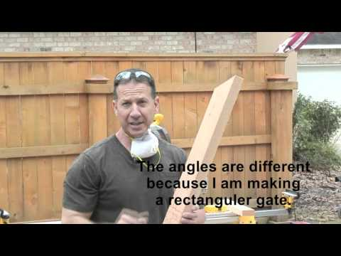 Build a 12 ft  gate that will not SAG!