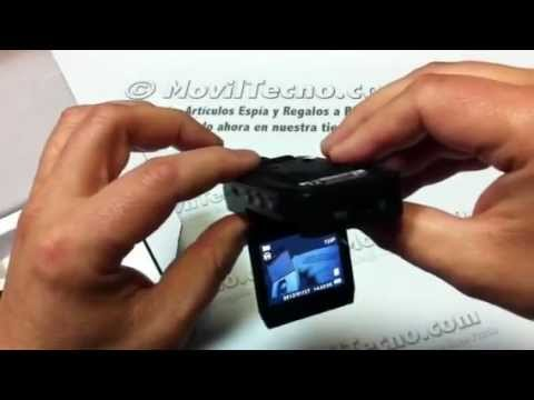 C mara de video para coches hd 1280p en youtube - Camara para coche interior ...