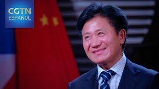 Entrevista con el embajador chino en Guinea Ecuatorial