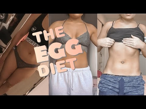 THE EGG DIET| quick weight loss