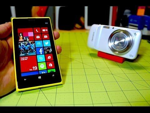 Lumia 1020 vs Galaxy S4 Zoom   Pocketnow