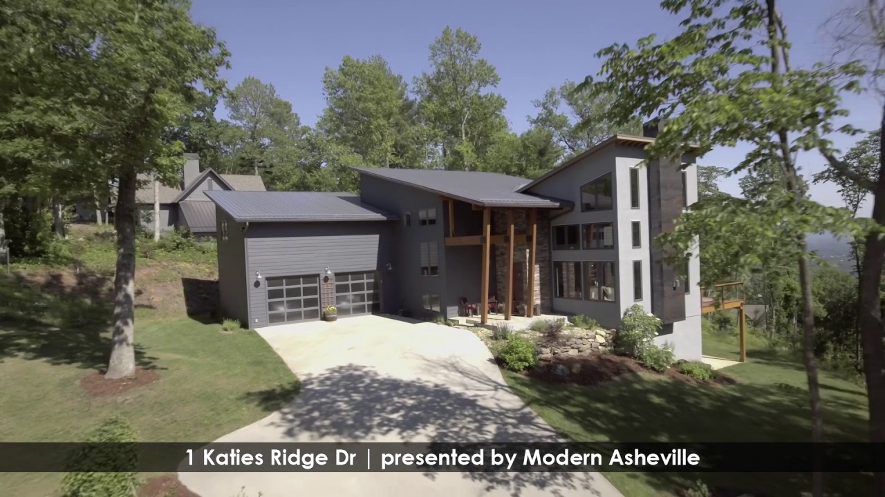 Modern Asheville Real Estate Preview For 1 Katie S Ridge Rd