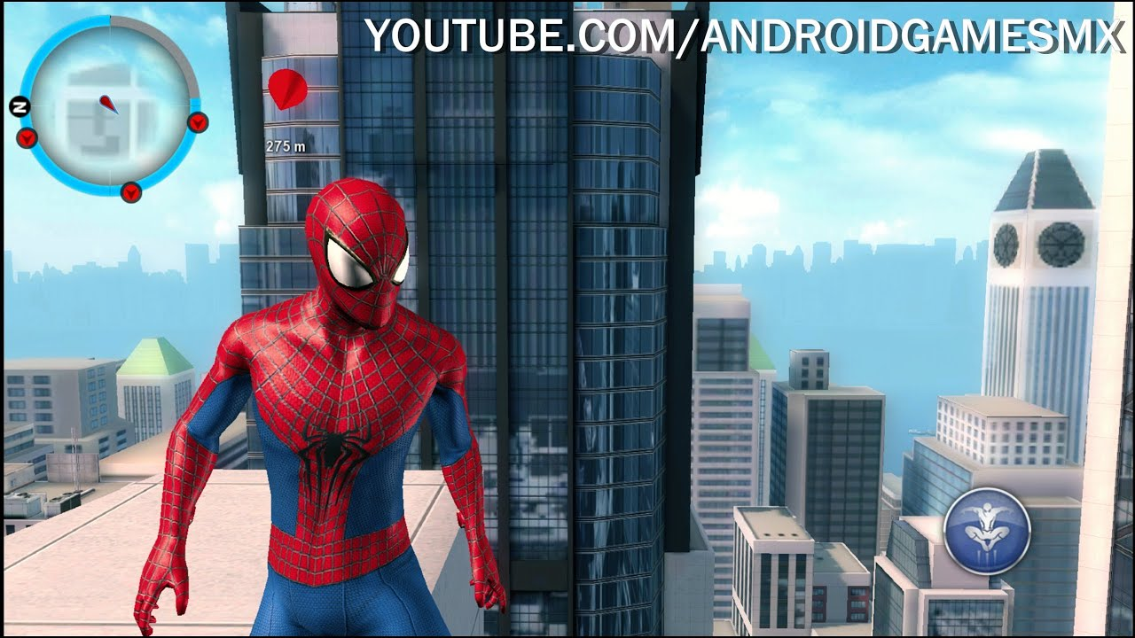 The Amazing SpiderMan 2 Para Android GENIAL JUEGO  YouTube