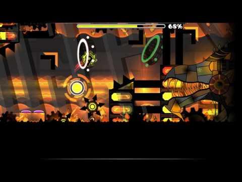 Geometry Dash Blast Furnace 100% (Favourite level :D)