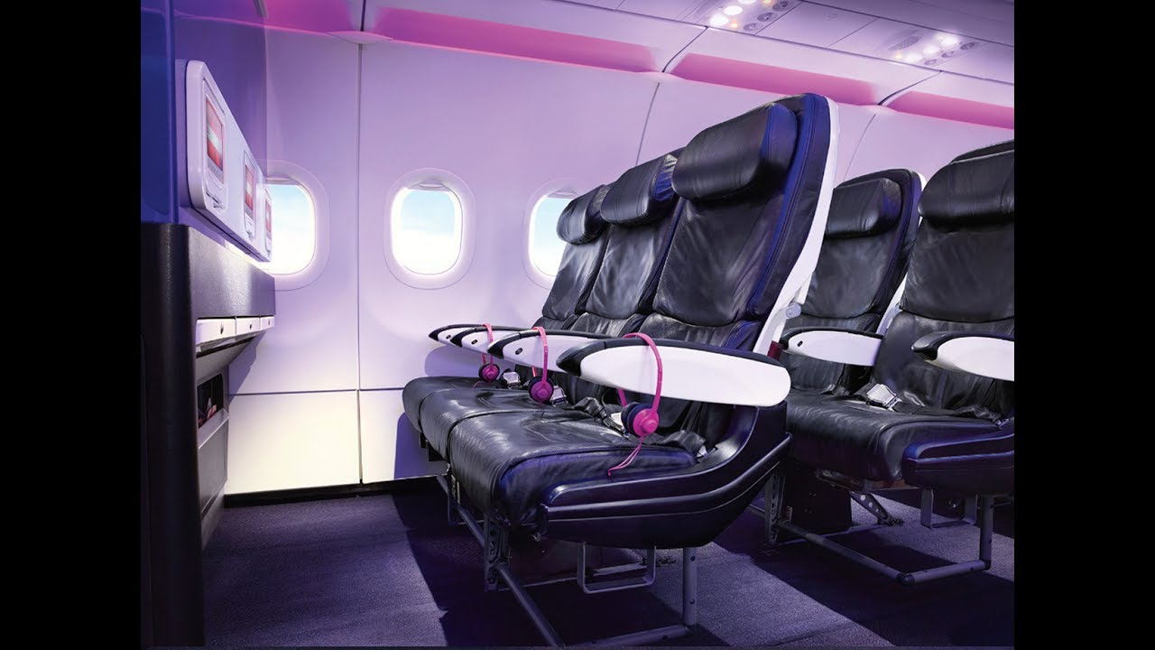 Awesome TRIPREPORT | Virgin America Main Cabin Select DAL DCA