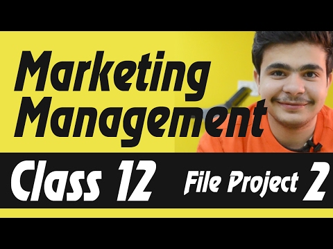Business Project On Marketing Management Cl File