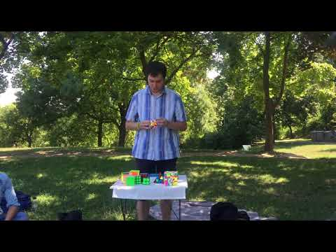 Man Solving Rubik's Cube - Free Stock Creative Commons Video