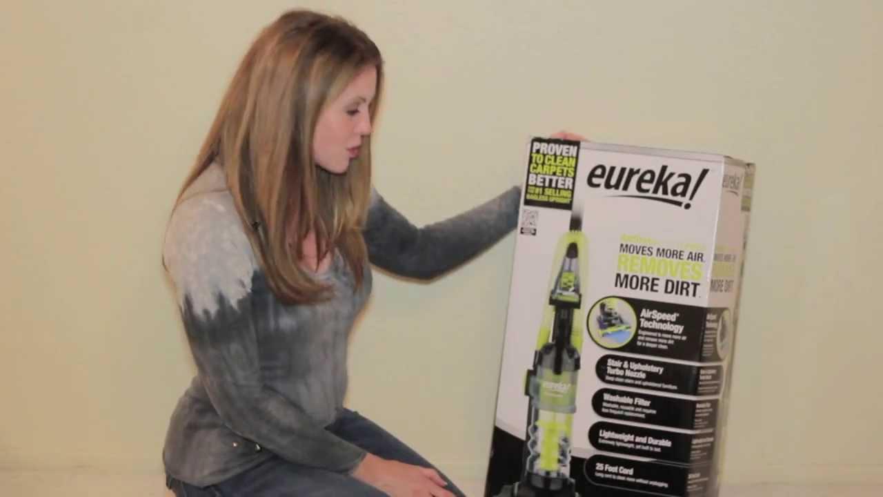 Eureka Air Speed One Vacuum Setup Guide YouTube