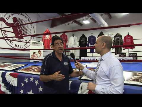 Boxing Hall of Fame Ed Brophy and Tony Polito Interview