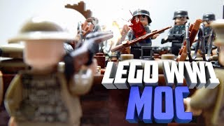 Lego WW1 MOC Битва на Лисе | Лего самоделка по Первой Мировой войне