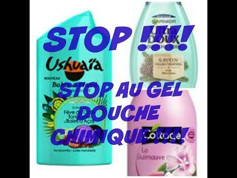 STOP AU GEL DOUCHE CHIMIQUE !!! DIY gel douche naturelle facile et rapide