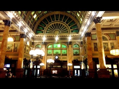 Dining at the Grand Concourse in Pittsburgh