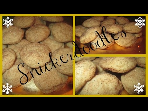 Holiday Cookie Recipes Part 2: Snickerdoodles