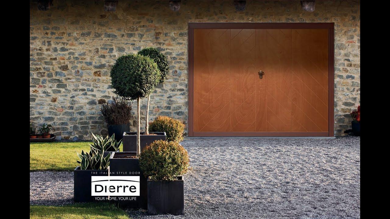 Porte e portoni basculanti e sezionali by dierre youtube for Dierre porte