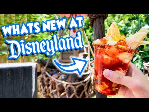What's NEW at the Disneyland Resort?! | New Food, Parade, and More!