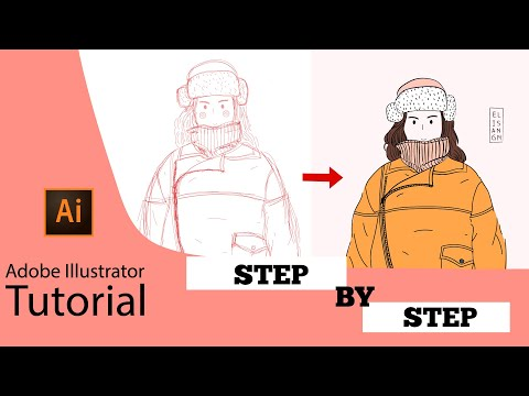 [step-by-step]-adobe-illustrator-tutorial---how-to-create-flat-illustration-based-on-photo-in-ai