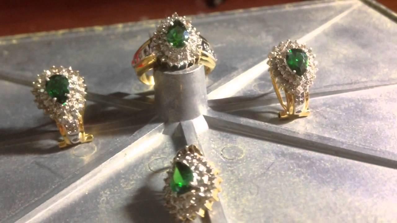 Model Perhiasan Emas Satu Set Terbaru - Seputar Model