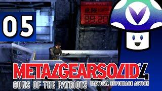 [Vinesauce] Vinny - Metal Gear Solid 4: Guns of the Patriots (part 5) + Art!