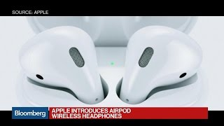 Apple Introduces AirPod Wireless Headphones