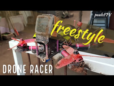 Фото Drone racer FPV Freestyle | Patrola, barro e rx lost