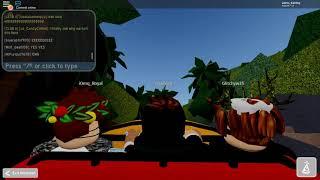 Universal Studios Roblox: New Jurasic Park Ride
