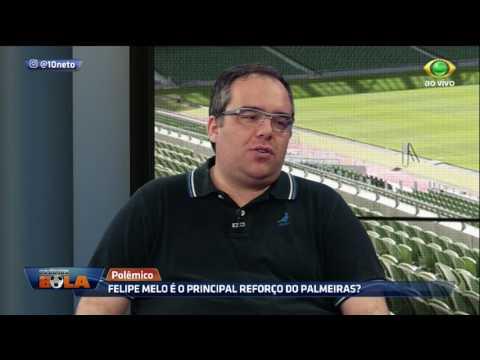 Müller: Palmeiras Não Precisava Contratar O Felipe Melo
