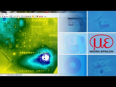 "Compact USB thermal imaging camera + software ""TIM Connect"" (en)"