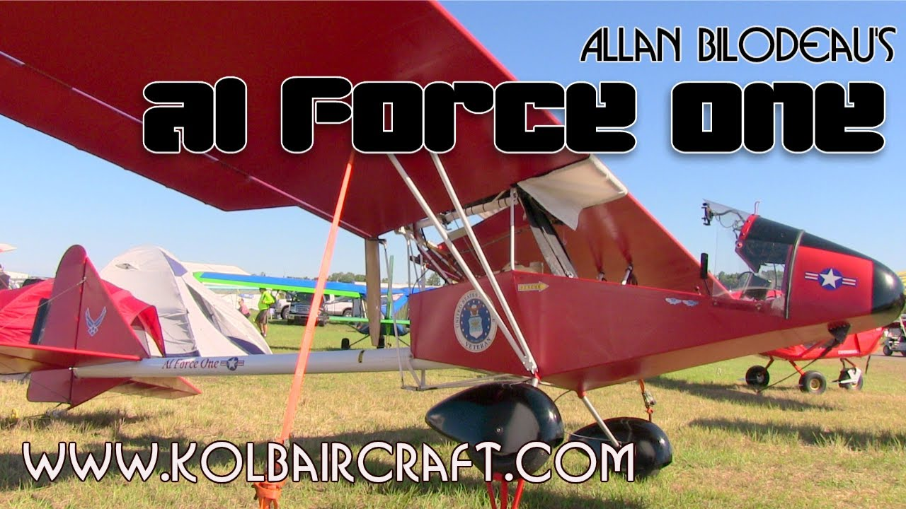 FireFly, Kolb Firefly, AL Force One legal part 103 Firefly ultralight  aircraft from Kolb Aircraft