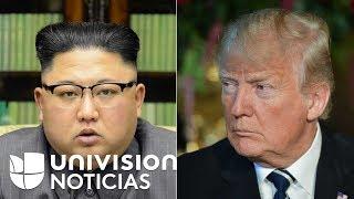 Corea del Norte dice estar dispuesta a reunirse con EEUU después de que Trump canceló la cumbre
