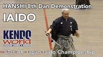 Hanshi 8th Dan Demonstration - The 51st All-Japan Iaido Championships (2016)