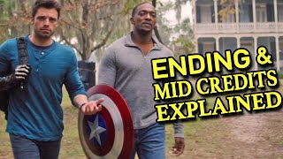 Falcon Winter Soldier Episode 5 ENDING & MID CREDITS EXPLAINED