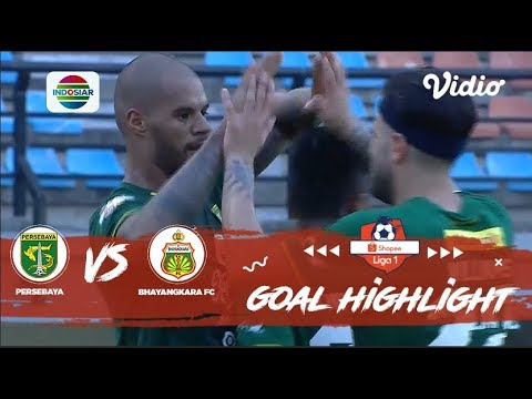 Persebaya (4) vs Bhayangkara FC (0) - Goal Highlights   Shopee Liga 1
