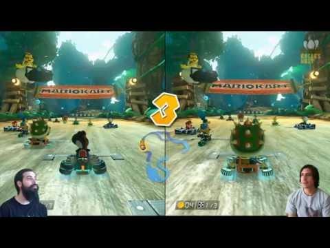 Mario Kart 8 online con Mike