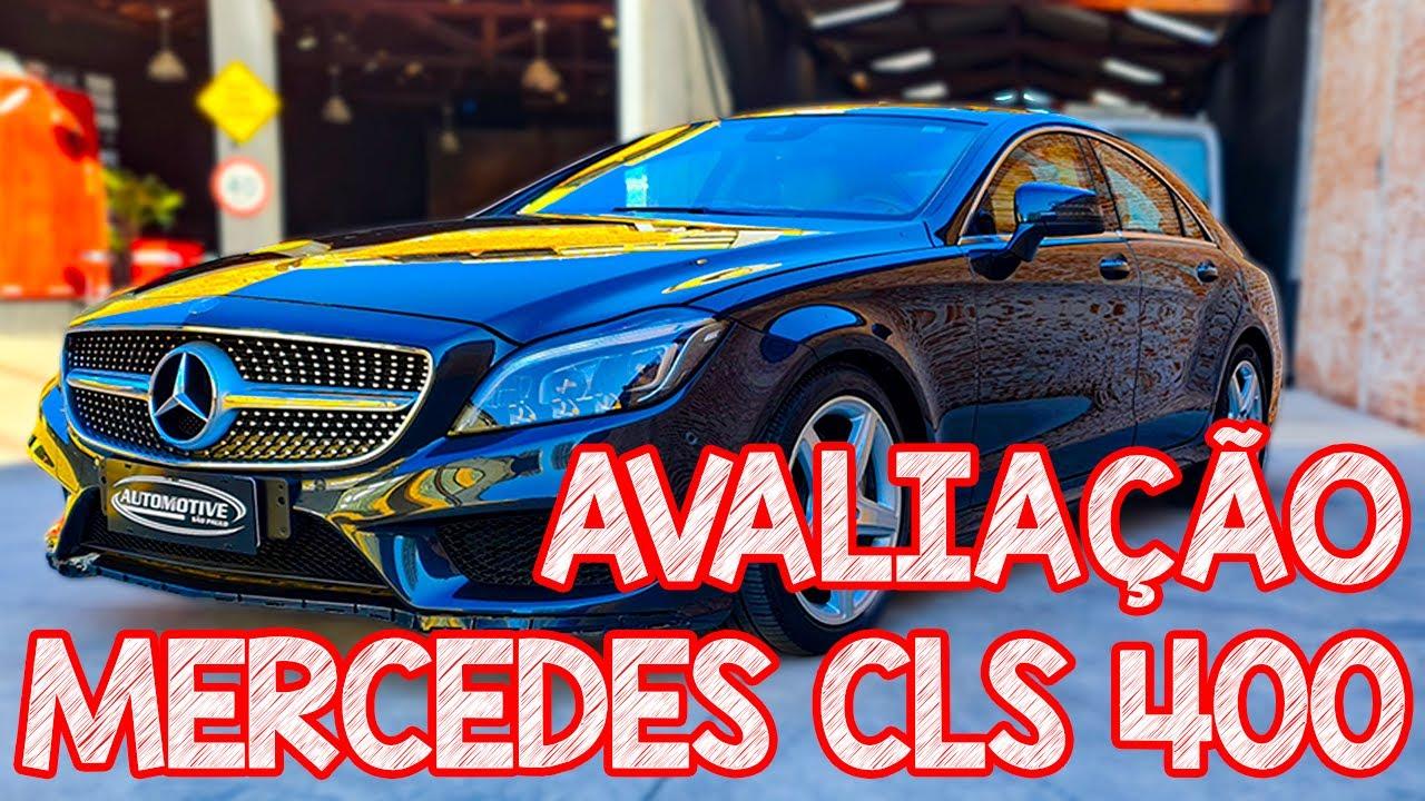 Avaliação Mercedes Benz CLS 400 2015 V6 biturbo!!! Um dos melhores sedãs que já vi!